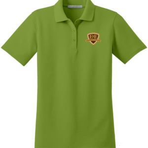 Lime Green Polo Shirt by Espresso & Exotics