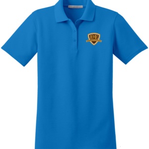 Vivid Blue Polo Shirt by Espresso & Exotics